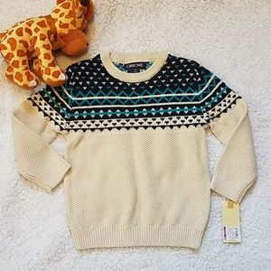 Other - HP!💕NWT Toddler Boy Knitted Sweater  size 3T